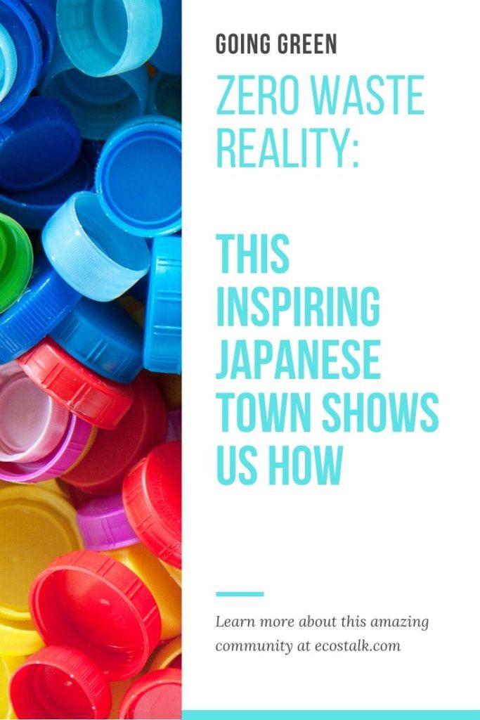 ecostalk japan zero waste town pinterest